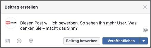Facebook Werbung Andreas Wullschleger Consulting